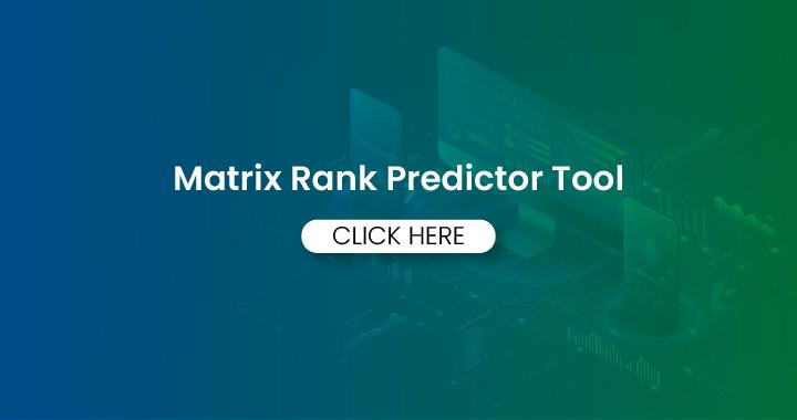 Matrix Rank predictor tool